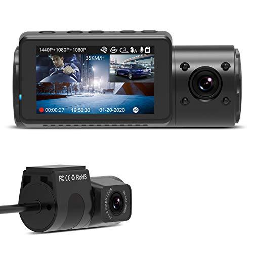 Kamerka samochodowa Vantrue N4 - 3 kamery 1440P + Dual 1080P €179.99