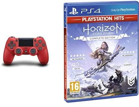 Zestaw DualShock 4 + Gra PS4 - God of War/ Horizon Zero Dawn CE / The Last of Us