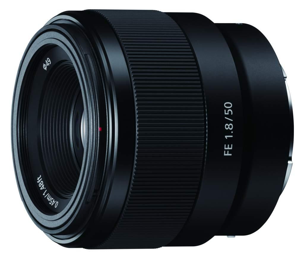 Obiektyw Sony SEL-50F18F Tania portretówka 136€
