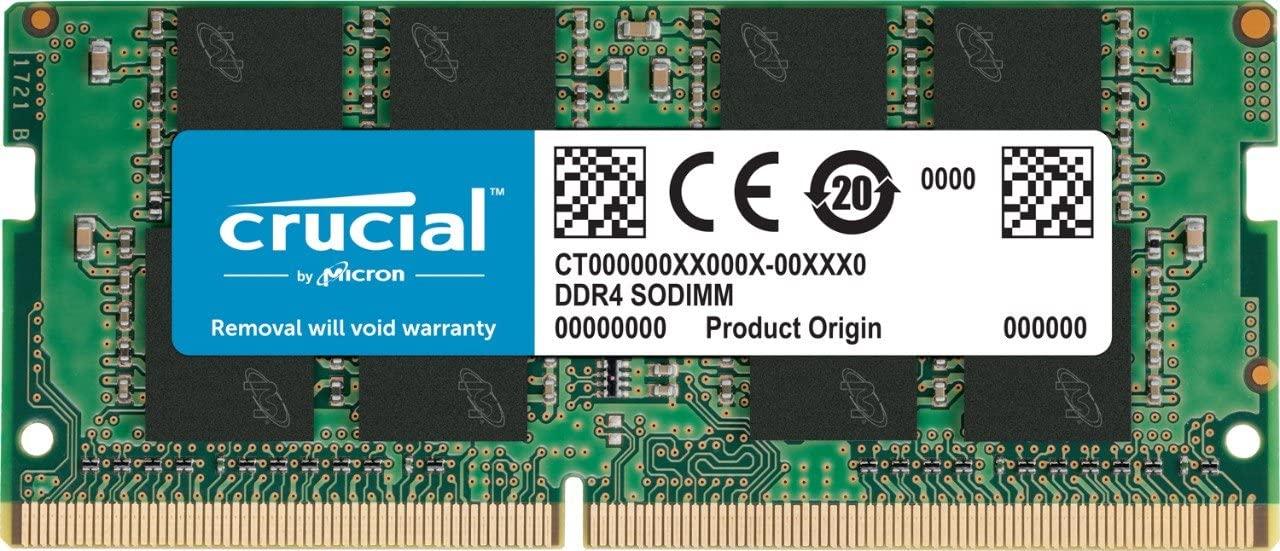 Crucial 16GB DDR4 2400MHz CL17 SODIMM Pamięć RAM (Amazon Prime)