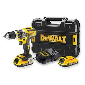 Amazon Prime! Wkrętarka DEWALT DCD795D2-QW 18V 13mm 60Nm 2 akumulatory Li-Ion 2,0Ah