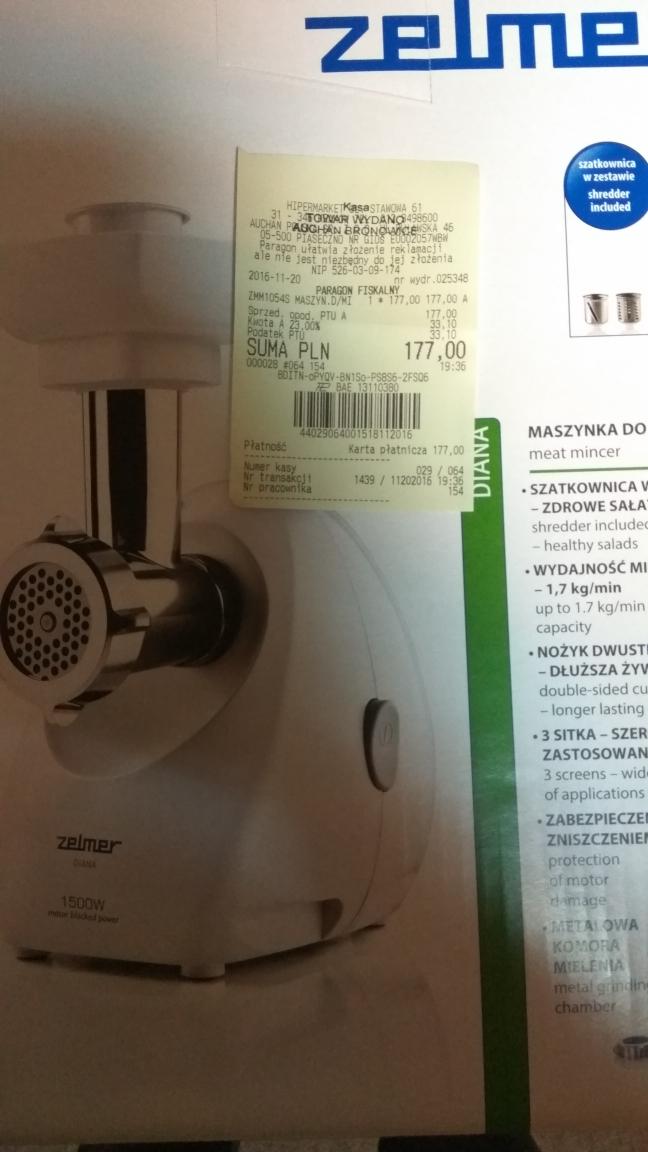 Maszynka do mielenia  Zelmer 887.54 Symbio