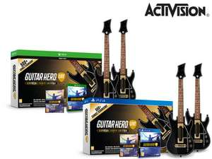 Guitar Hero Live z 2 kontroleremi – PS4, Xbox One + 20 Euro na zakupy w GHTV!