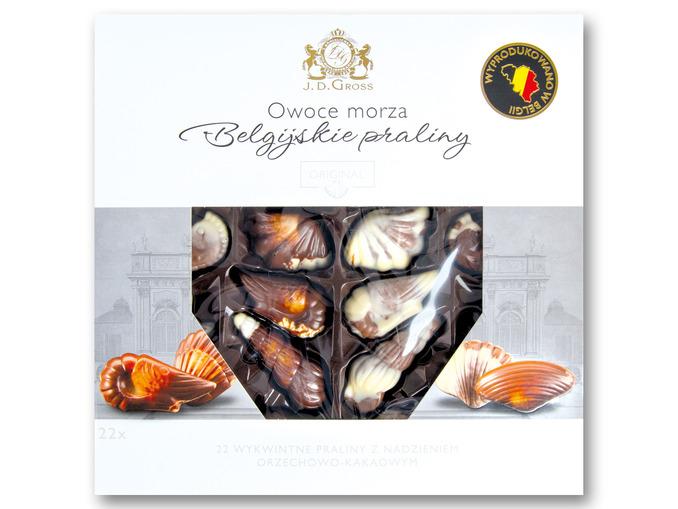 [Lidl] Praliny owoce morza z belgijskiej czekolady