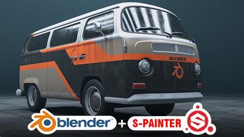 BLENDER : Realistic Vehicle Creation From Start To Finish i kilka innych kursów Udemy