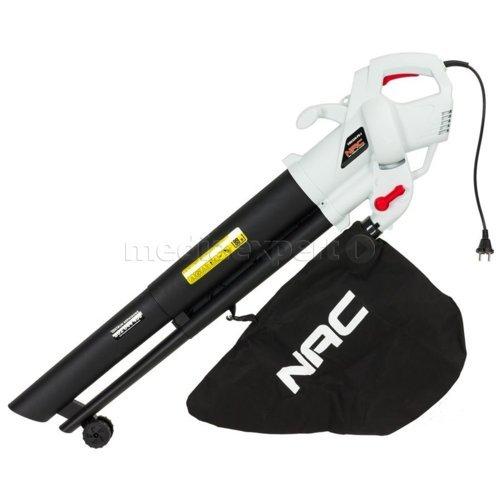 Odkurzacz do liści NAC VBE320-FS-J, 3200W, lub model za 119zł z regulacją siły wydmuchuVBE320-AS-J