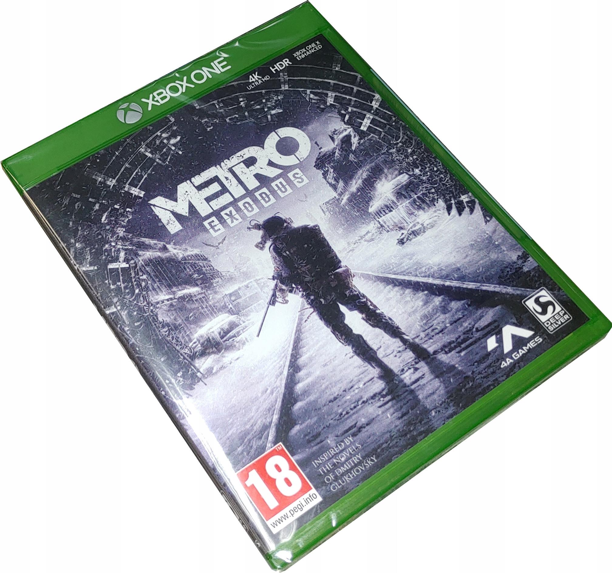 METRO EXODUS / PO POLSKU / XBOX ONE / NOWA