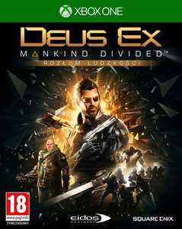 XBOX ONE DEUS EX MANKIND DIVIDED ROZŁAM LUDZKOŚCI