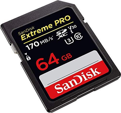 Karta SDXC Sandisk Extreme PRO 64GB UHS-I (Amazon Prime DE), 13.99€
