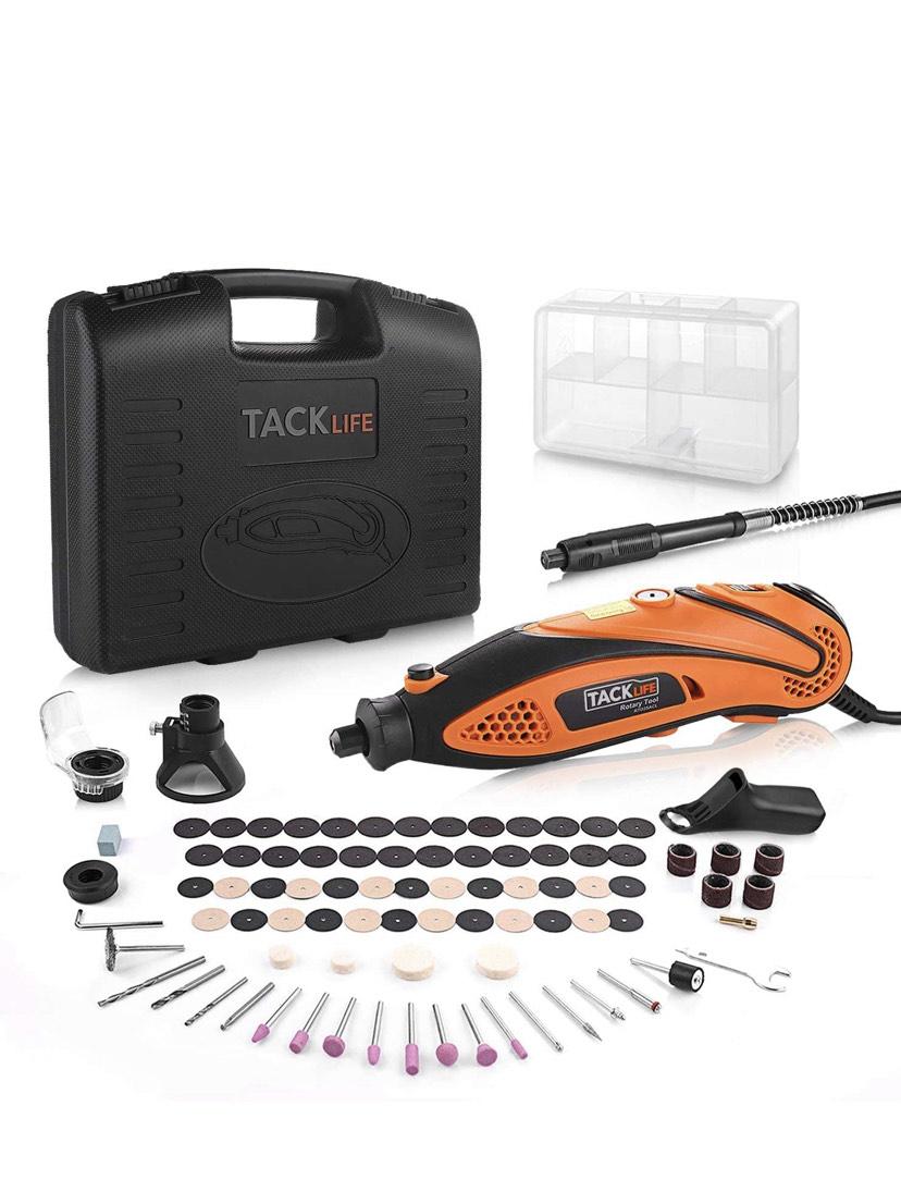Tacklife RTD35ACL Advanced narzędzie wielofunkcyjne z 80 akcesoriami i 3 nakładkami, €26,59