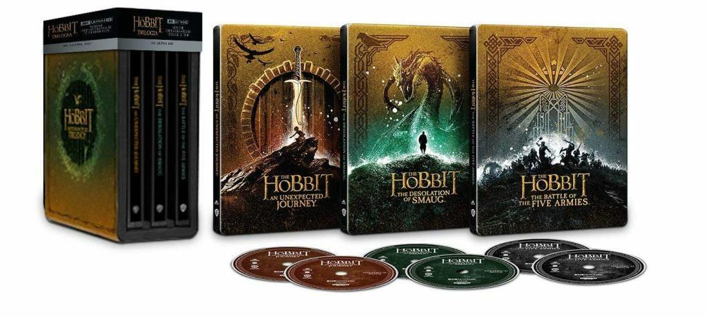 """""""Hobbit"""" 4K Ultra HD Blu-ray na włoskim Amazon z polskimi napisami"""