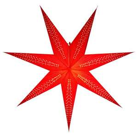 """Papierowa, ażurowa lampa """"Gwiazda adwentowa"""" Ø75 cm w @JULA"""