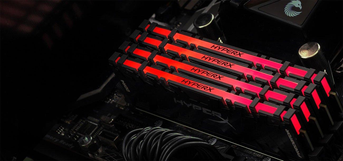 Pamięci RAM HyperX 16GB (2x8GB) 3200MHz CL16 Predator RGB
