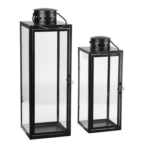 Komplet dwóch lampionów 34,5 cm i 45 cm - do użytku wewnątrz i na zewnątrz @JULA