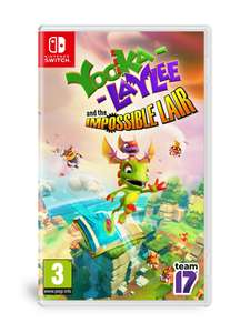 Yooka-Laylee and the Impossible Lair pudełkowa na Nintendo Switch