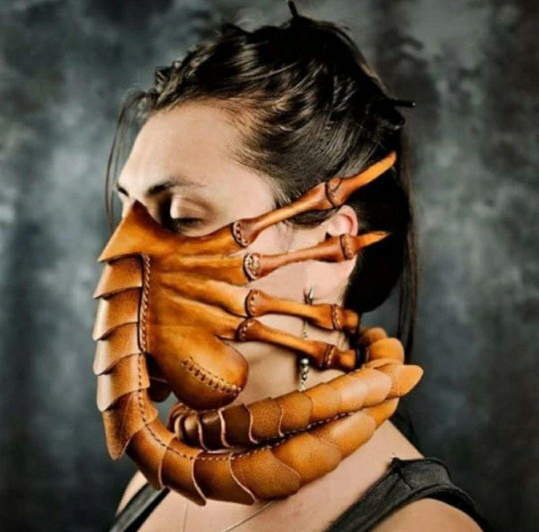 Maska syntetyczna skóra Obcy Xenomorph 1979 @Banggood