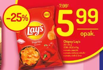 Lay's chipsy duża paczka