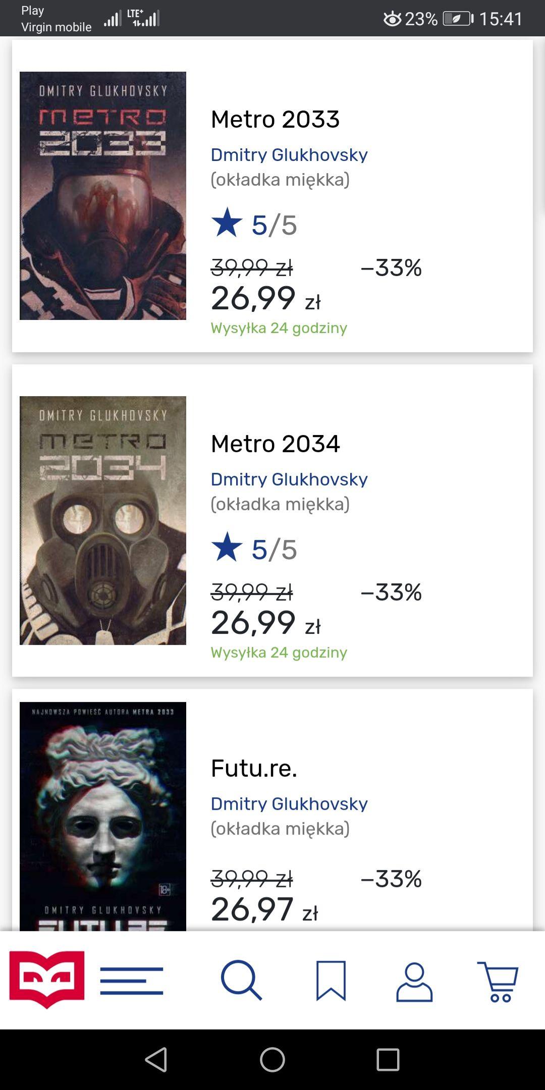 Promocja na Uniwersum Metro w Tantis.pl