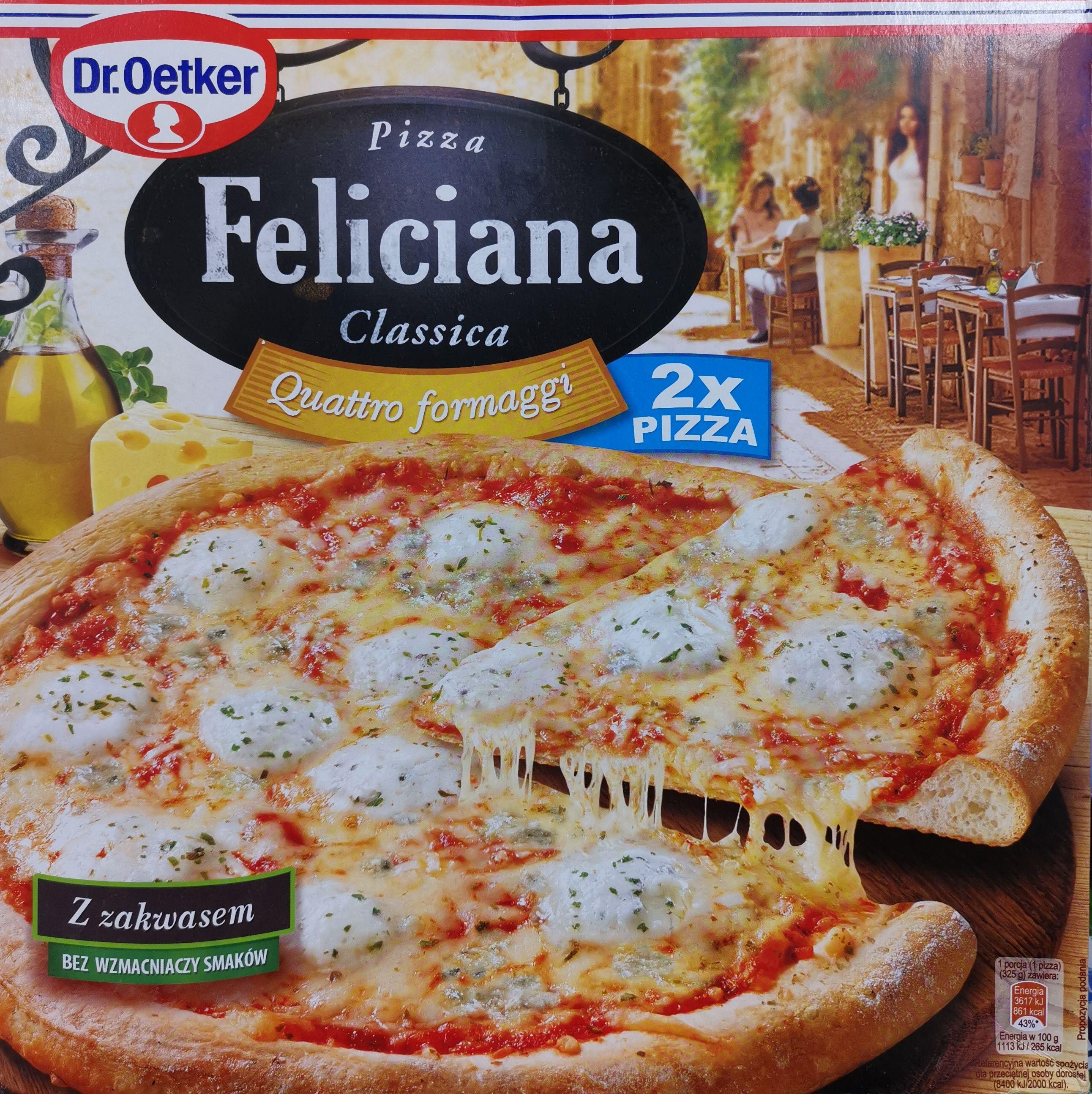 Pizza Feliciana Quattro formaggi dwupak / Biedronka