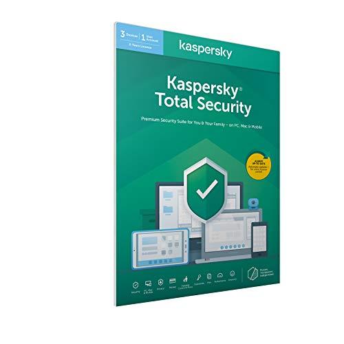 Kaspersky Total Security 2020 3 urządzeń / 2 lata 20,49GBP + 2,50 GBP wysyłka