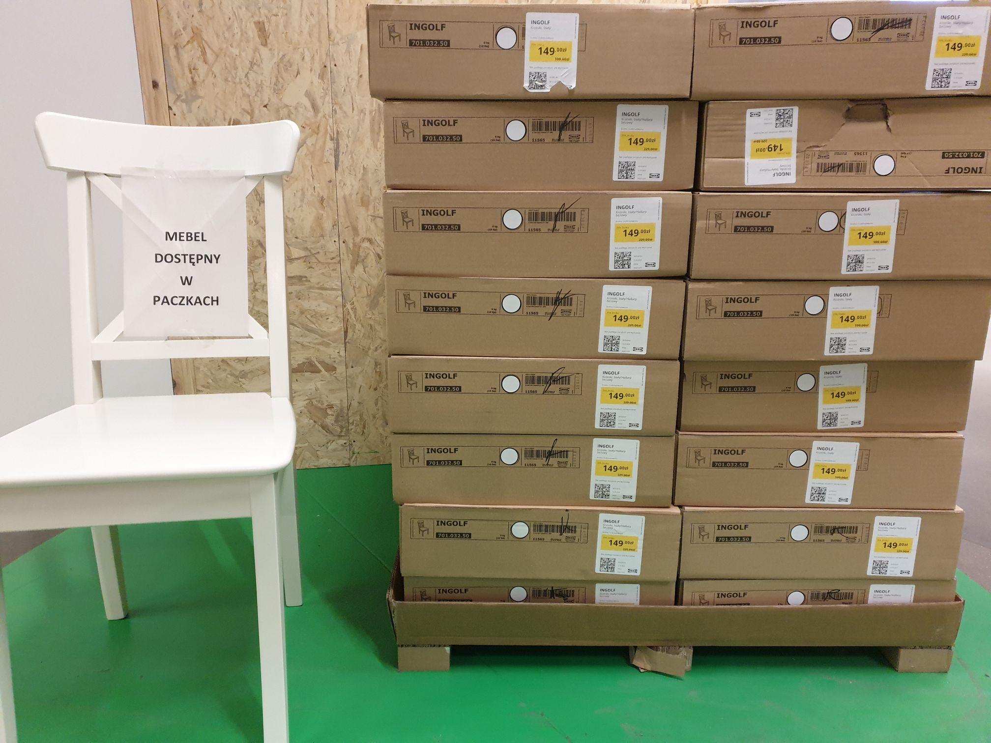 Krzesła INGOLF IKEA