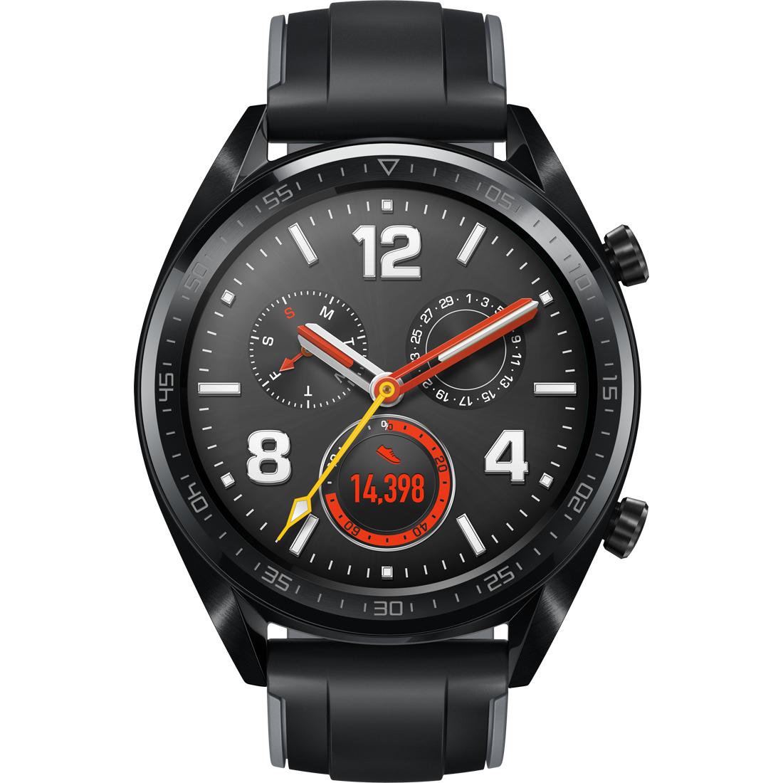 Huawei Watch GT czarny/brązowy/Active