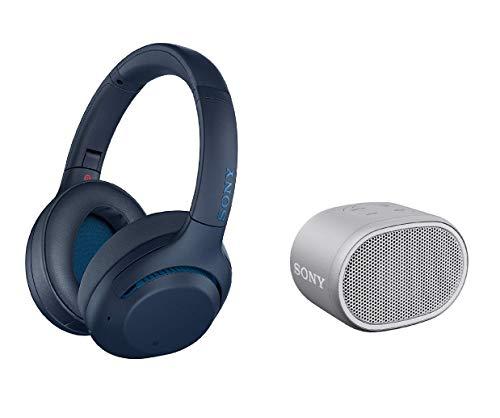 Słuchawki Sony WH-XB900N Bluetooth z redukcją szumów + głośnik SRS-XB01