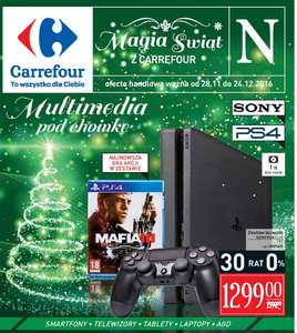 Playstation 4 1TB plus gra Mafia 3