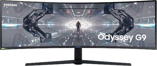 Monitor Samsung Odyssey G9, zakrzywiony ekran 1000R, 49'' - 32:9 @Morele