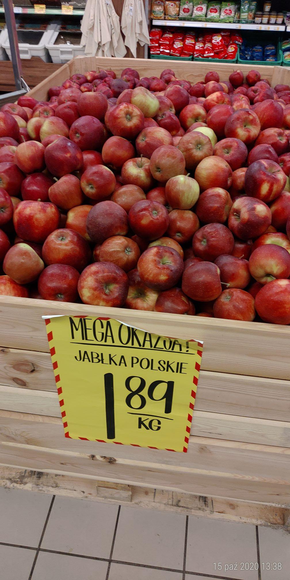 Jabłka sieć Jan Wadowice