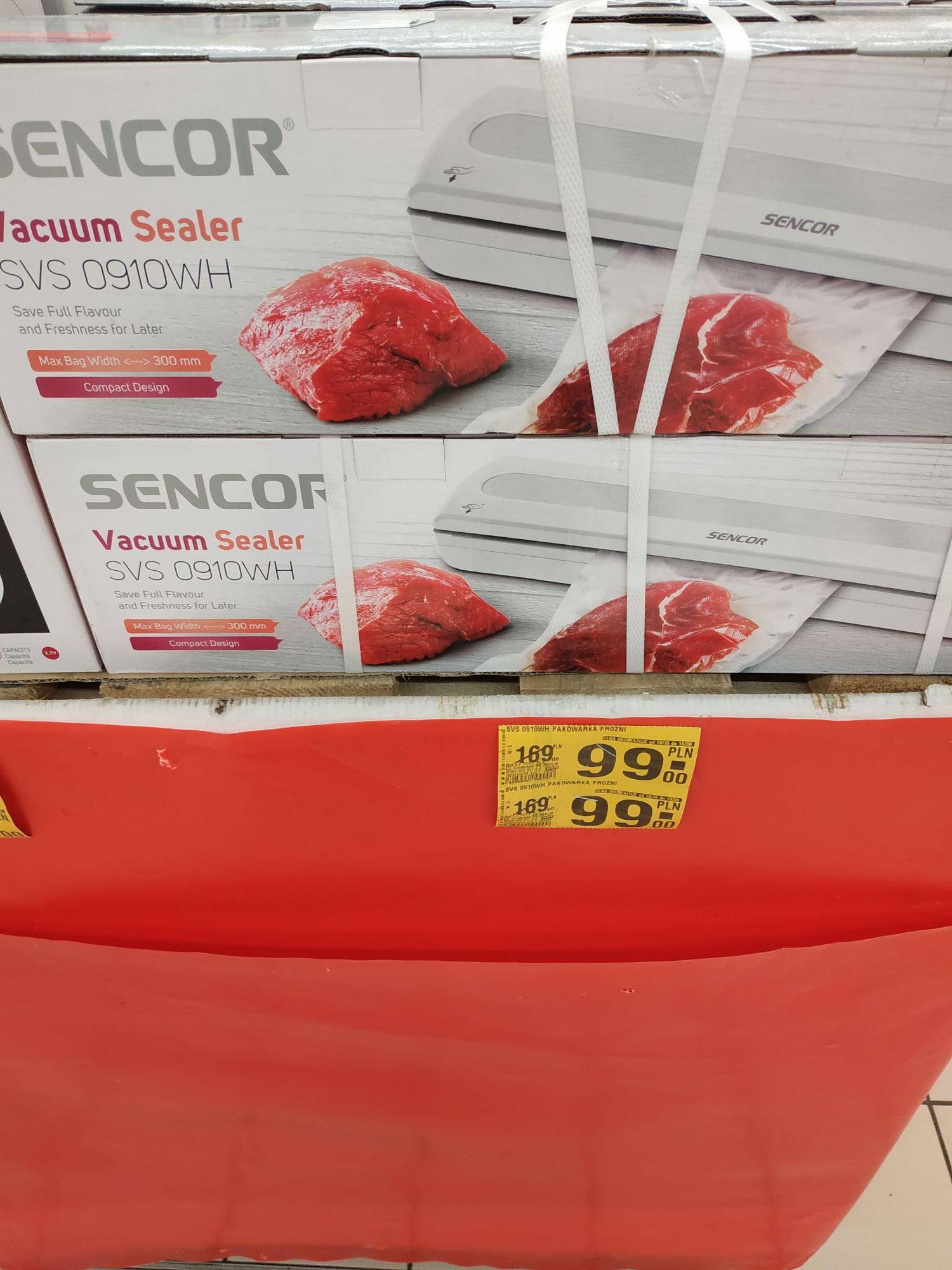Auchan Zgrzewarka próżniowa SENCOR SVS 0910WH