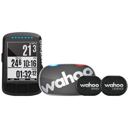 Komputer rowerowy Wahoo ELEMNT BOLT Stealth Edition GPS - zestaw.