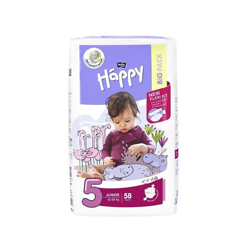 Pieluszki Bella heppy junior 5 przy zakupie 2opakowañ Intermarche