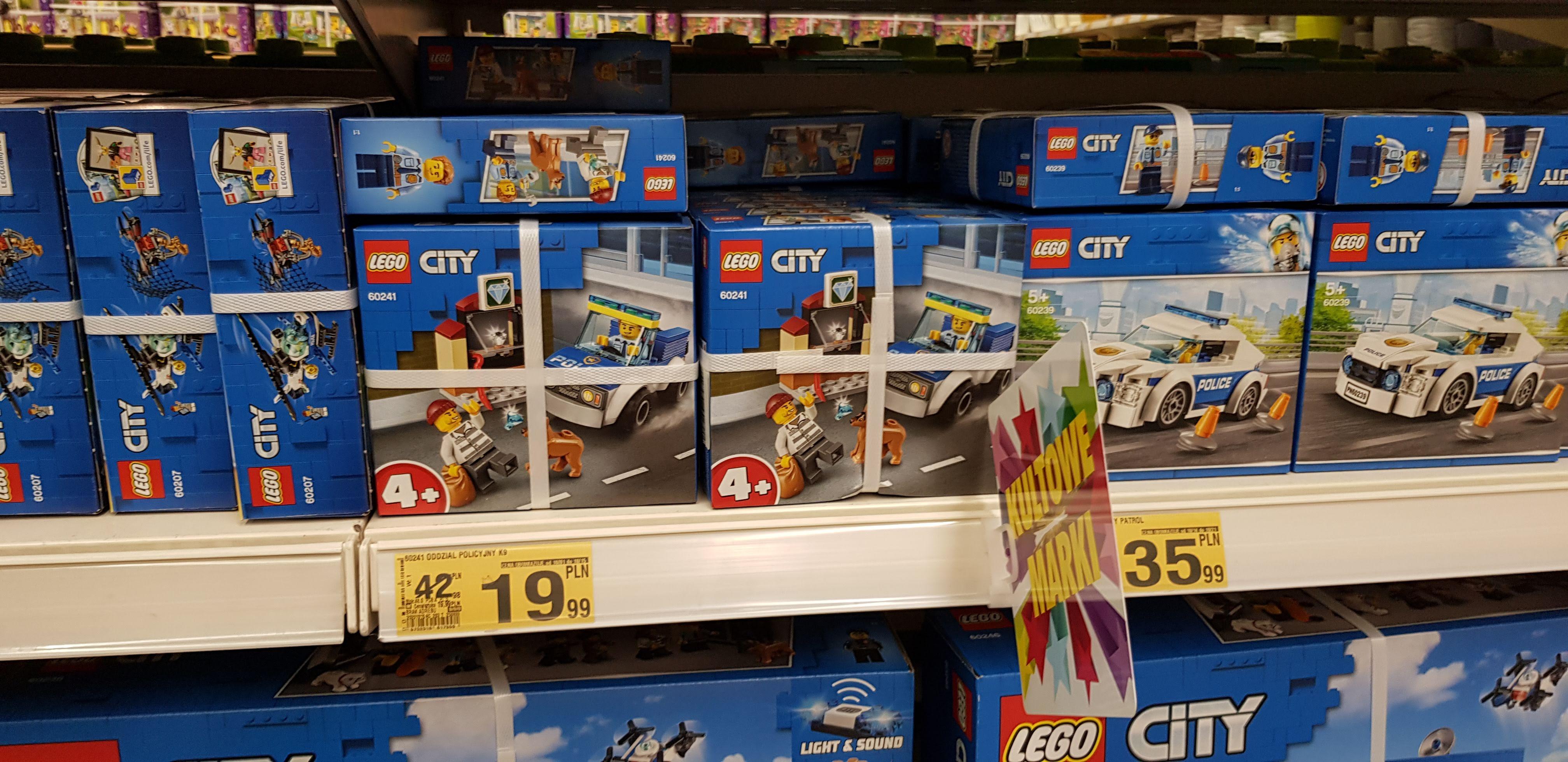 LEGO CITY Oddział policyjny z psem 60241