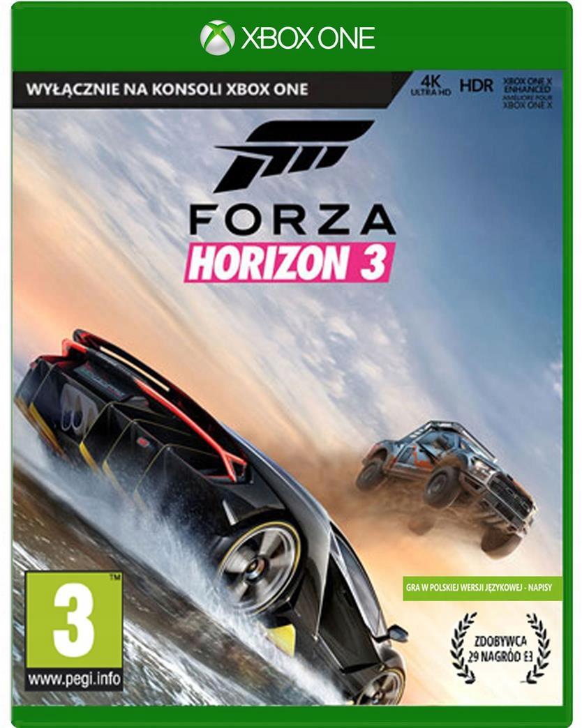 FORZA HORIZON 3 Polska Dystrybucja XBOX ONE