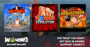 [Steam] Humble Worms! Worms! Worms! Bundle