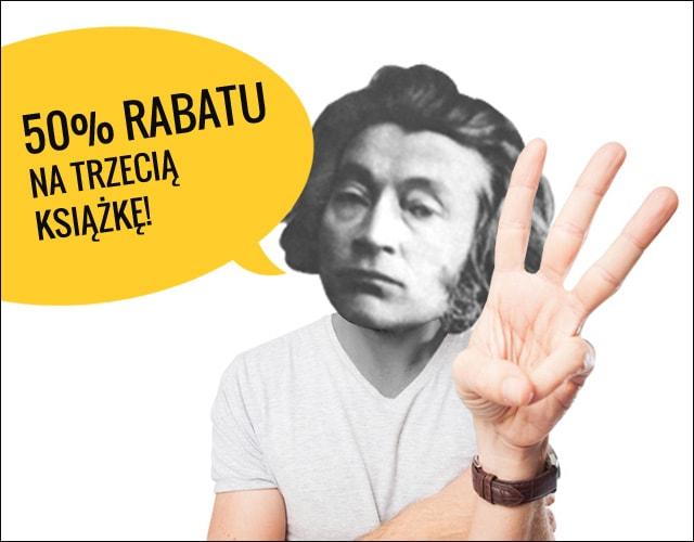 Trzecia książka z 50% rabatem  @ Chodnik Literacki