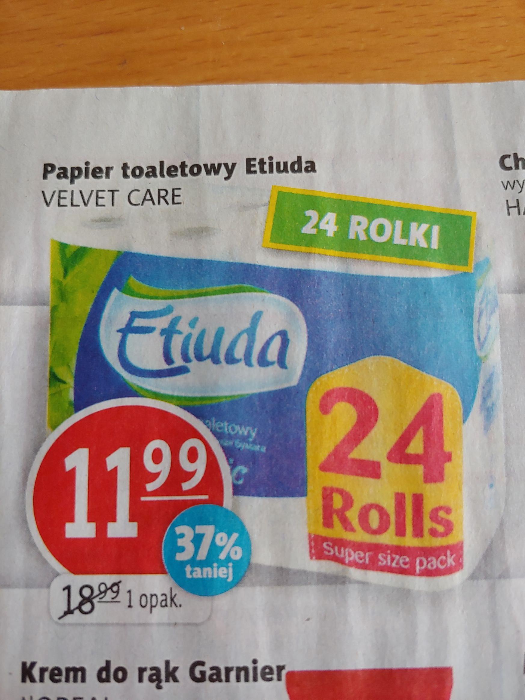 Papier toaletowy Etiuda 24 rolki- prim market