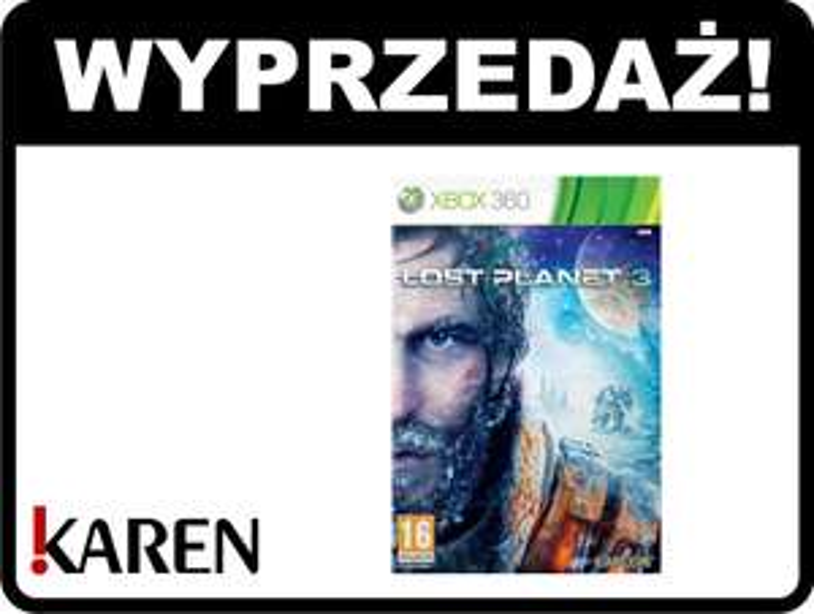 Lost Planet 3 za 39zł (X360)! @ KAREN.pl