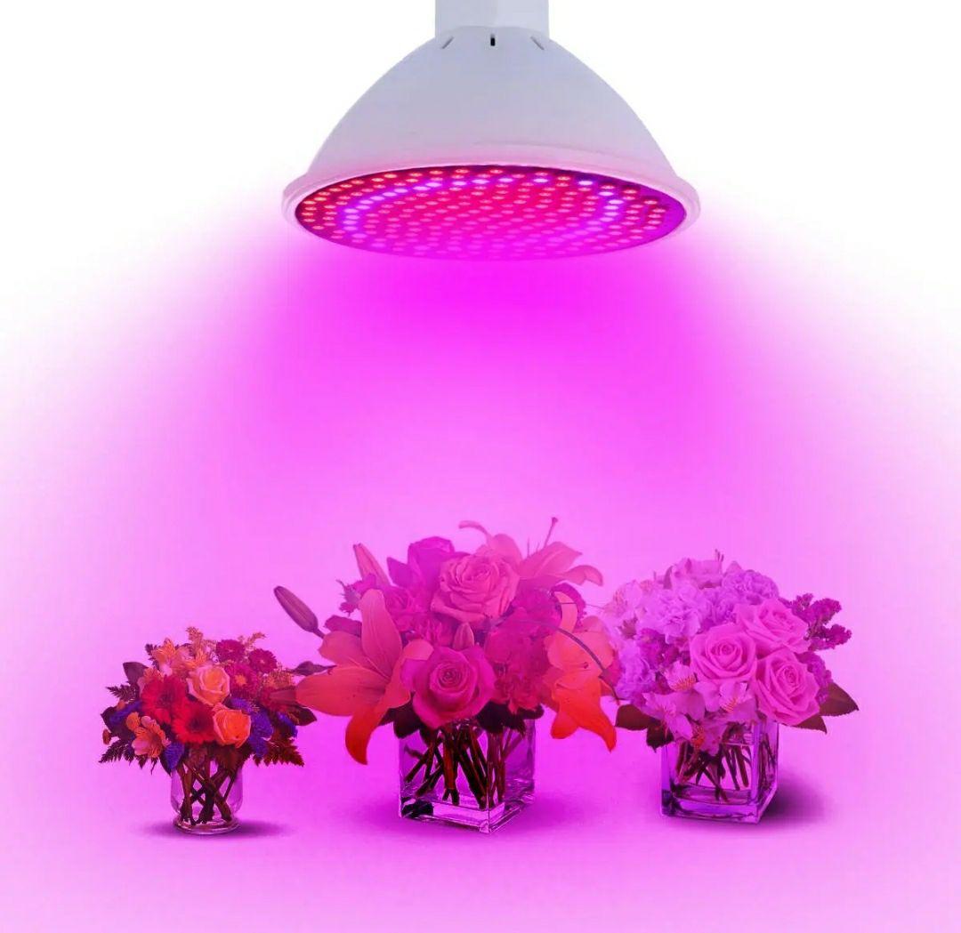 20W E27 Żarówka LED do wzrostu roślin 166 Red 33 Blue RGB @Bangood