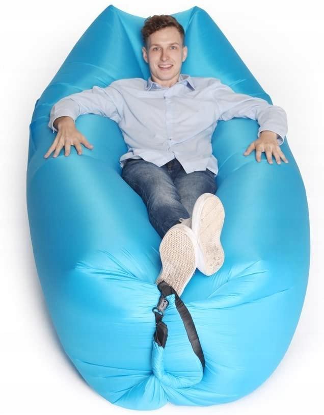LAZY BAG - nadmuchiwana rozkładana sofa, fotel