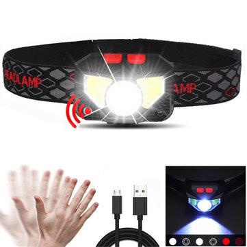 Latarka Skywolfeye GY05 LED czujnika podczerwieni