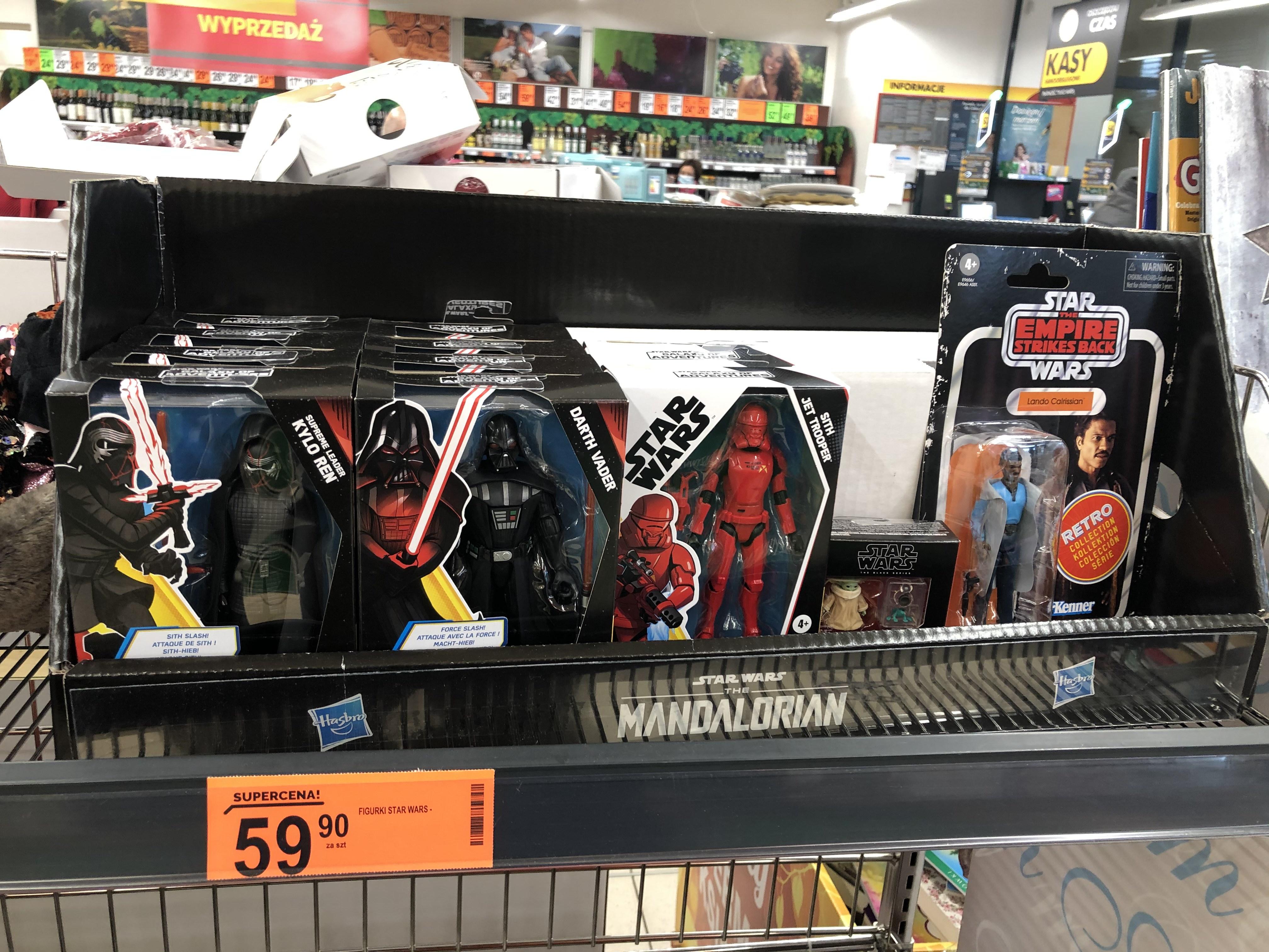Figurki Star Wars w Biedronce