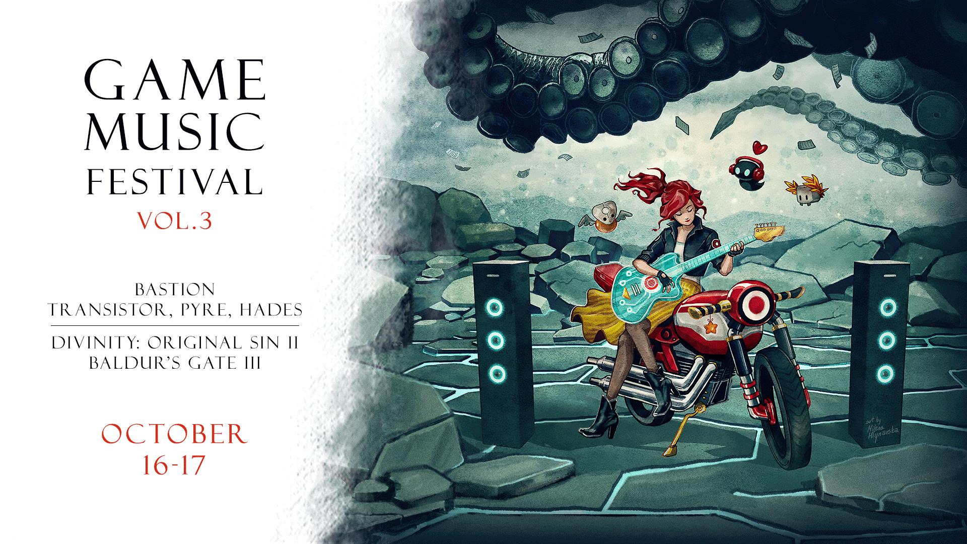 Game Music Festival na żywo online i za darmo 16-17 października