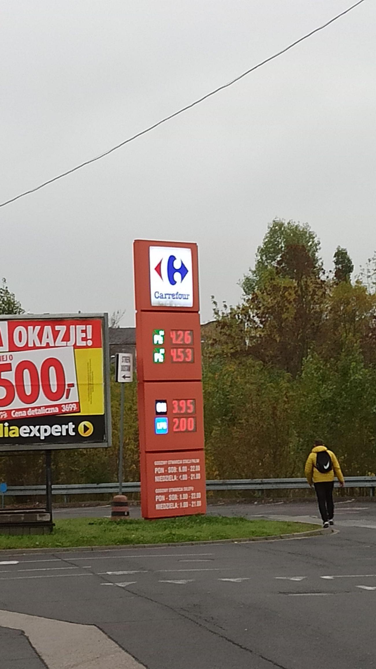 ON Diesel Carrefour Łódź