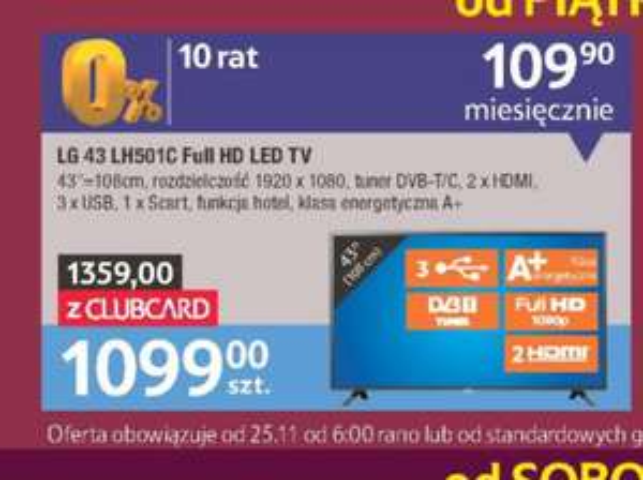 LG 43 LH501C Full HD Led Tv