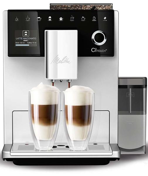 EKSPRES DO KAWY MELITTA F63-101 CAFFEO CI TOUCH - SREBRNY