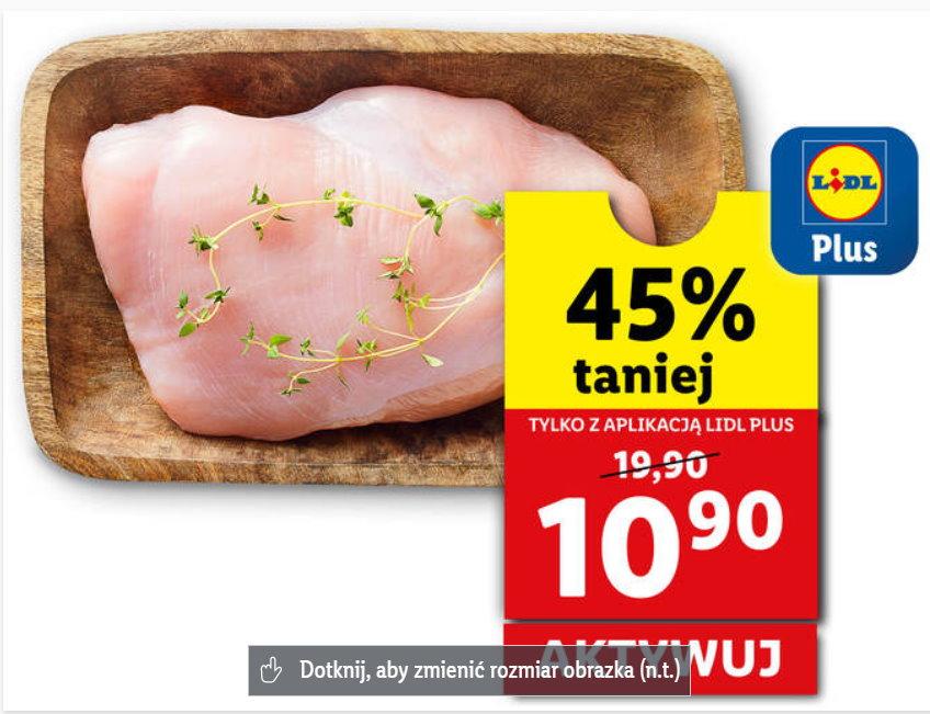 Filet z piersi indyka 45% taniej