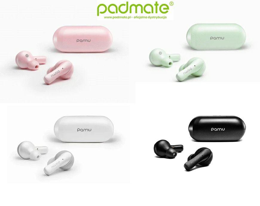 Słuchawki TWS PaMu Slide Mini - 4 kolory - 259 zł / PaMu Slide - 3 kolory - 319 zł / Oficjalna polska dystrybucja