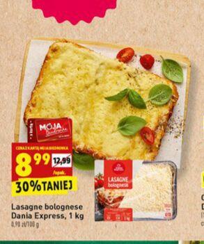 Lasagne bolognese w Biedronce